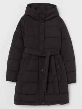 Куртка H&M 7854560 Черная