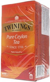 Упаковка чая черного Twinings Ceylon 2 г х 25 шт (70177011703_070177260439)