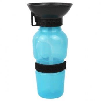 Переносна поїлки для тварин DOG WATER BOTTLE блакитна