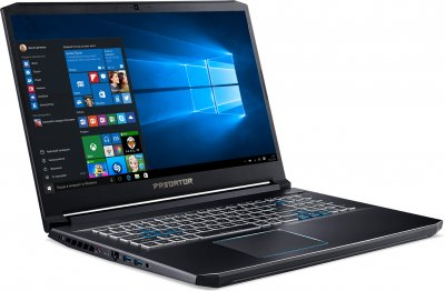 Ноутбук Acer Predator Helios 300 PH317-54-70ED (NH.Q9WAA.003) Abyssal Black Б/У
