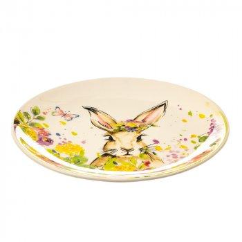 Тарелка обеденная Flower rabbit Lefard AL84559