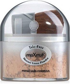 Минеральная рассыпчатая пудра без талька MaxMar Mineral Loose Powder