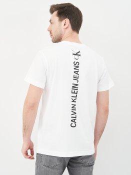 Футболка Calvin Klein Jeans Ck Vertical Back Graphic Tee J30J318303-YAF Bright White