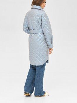 Пальто Mila Nova ПВ-216 кор Голубое