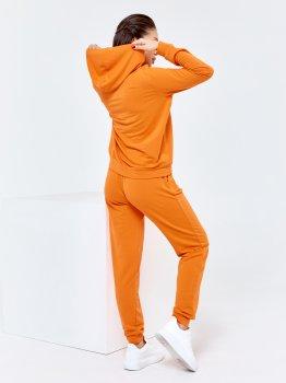 Спортивний костюм ISSA PLUS 11440 Жовтогарячий