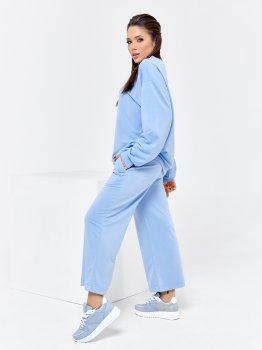 Спортивний костюм ISSA PLUS 12544 Блакитний