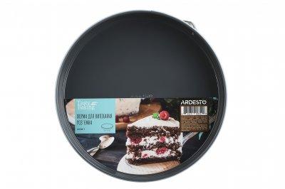 Форма для випічки кругла 26 см роз'ємна Ardesto Tasty baking Вуглецева сталь (AR2301T)