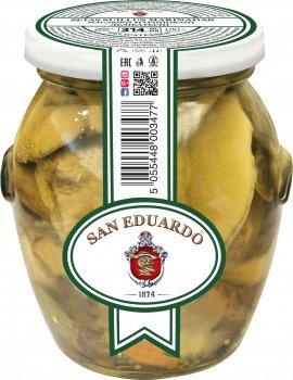 Маслята San Eduardo маринованные деликатесные 314 мл (5055448003477)