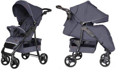 Прогулянкова коляска Carrello Quattro CRL-8502/3 + москітна сітка Admiral Blue (CRL-8502/3 + M admiral blu)