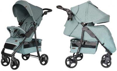 Прогулочная коляска Carrello Quattro CRL-8502/3 + москитная сетка Pine Green (CRL-8502/3+M pine green)