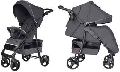 Прогулочная коляска Carrello Quattro CRL-8502/3 + москитная сетка Shadow Grey (CRL-8502/3+M shadow grey)