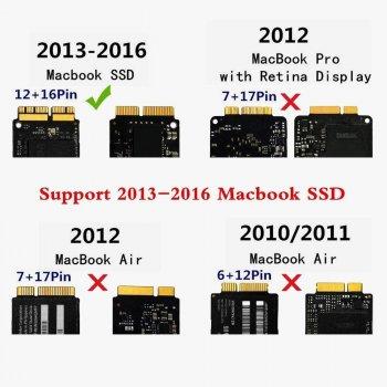 Перехідник для MacBook Pro + Air to SSD M. 2 NGFF 2013-2016