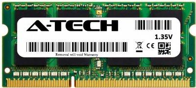 Оперативная память A-Tech 8GB DDR3L-1333 (PC3L-10600) SODIMM 2Rх8 (AT8G1D3S1333ND8N135V)