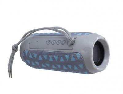 Беспроводная портативная Bluetooth стерео колонка T&G 117 GRAY-BLUE