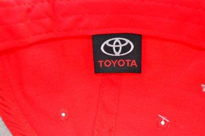 Кепка Sport Line c автомобильным логотипом Toyota красная (S 0919-123)