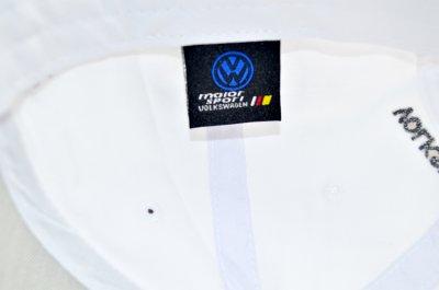 Кепка Sport Line c автомобильным логотипом Volkswagen белая (S 0919-181)