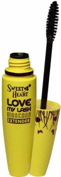 Туш Sweet Heart Love MY Lash Extender Чорна довжина класичний пензель (8858229051288)