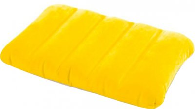Надувная подушка Intex 43 x 28 x 9 см Желтая (68676-2o)
