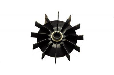 Крильчатка охолодження двигуна насоса БЦН пластикова d=14/118
