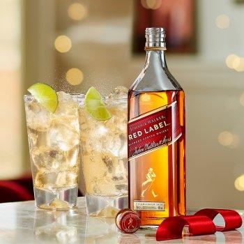 Виски Johnnie Walker Red label выдержка 4 года 0.5 л 40% (5000267014401)