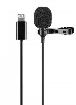 Петличный микрофон для iPhone, iPad с разъемом Lightning Lavalier JBC-049 (6262)