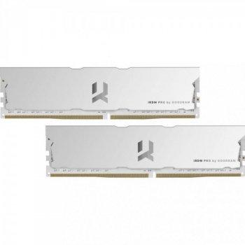 Модуль памяти GoodRam 16 GB (2x8GB) DDR4 3600MHz IRDM Pro White (IRP-W3600D4V64L17S/16GDC) (F00239782)