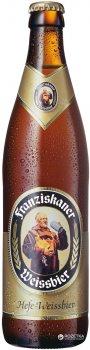 Упаковка пива Franziskaner Weissbier светлое нефильтрованное 5.1% 0.5 л х 20 шт (4072700003649)