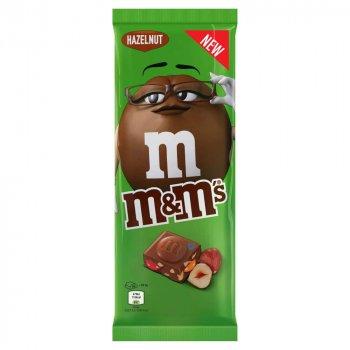 Шоколад молочный M&M's с лесным орехом 165 г