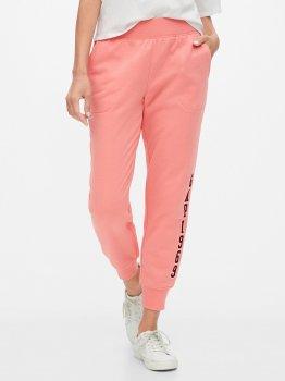Спортиные штаны GAP 234448626 Розовые