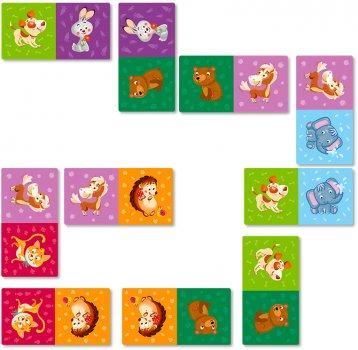Настільна гра DoDo Доміно Тварини (300248) (4820198241919)