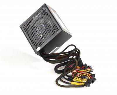 Блок питания Frime GLARE-500 APFC COLOR BOX