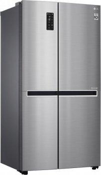 Холодильник LG GC-B247SMDC SbS /179 см/ 626 л/ А+/Total No Frost/ лінійний компр./платіні.-срібло.