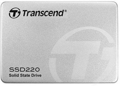 """Твердотільний накопичувач SSD 2.5"""" Transcend 220 120GB SATA TLC"""