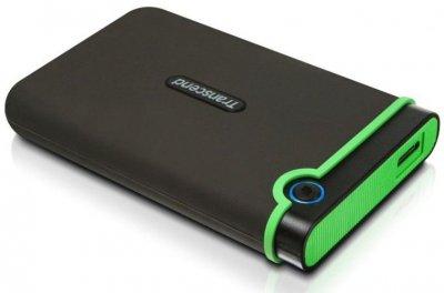 """Жорсткий диск Transcend StoreJet 2.5"""" USB 3.1 500GB StoreJet 25M3 Iron Gray"""