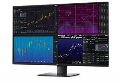 "Монитор LCD 43"" DELL U4320Q HDMI, DP, USB-C, IPS, 3840x2160 (4R), 96%sRGB"