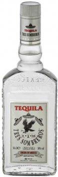 Текила Tres Sombreros Silver 38% 0.5 л (14771865393_8414771865393)