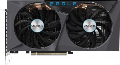 Gigabyte PCI-Ex GeForce RTX 3060 Eagle 12G 12GB GDDR6 (192bit) (15000) (2 х HDMI, 2 x DisplayPort) (GV-N3060EAGLE-12GD + Z390 D + P650B)