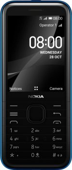 Мобильный телефон Nokia 8000 DS 4G Blue