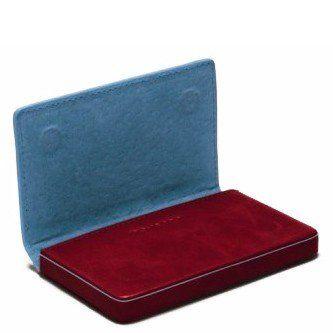 Красная кожаная визитница Piquadro Blue Square (PP1263B2_R)
