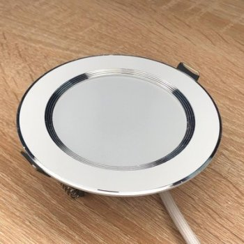 """LED панель 7W 380LM 6500K коло біла """"LEMANSO"""" LM453"""