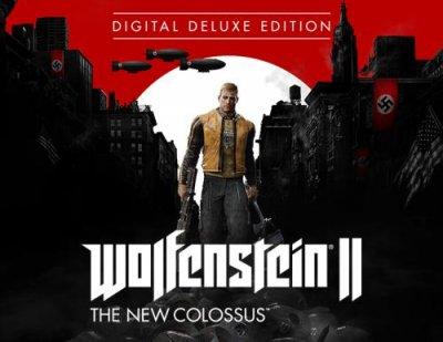 Игра Wolfenstein II: The New Colossus Deluxe Edition (PC) (Ключ активации Steam)