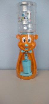 Детский кулер для воды Фунтик Мишка оранжевый