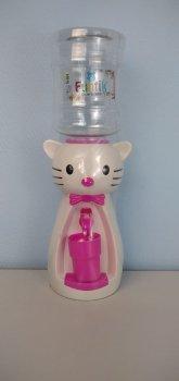 Детский кулер для воды Фунтик Котики белый/розовый