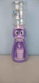 Детский кулер для воды Фунтик Уточка фиолетовый
