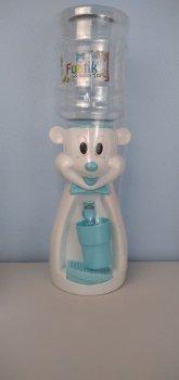 Детский кулер для воды Фунтик Мишка белый/голубой