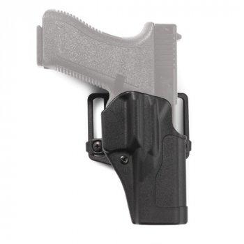 Полімерна кобура Blackhawk Sportster Standard CQC Concealment Holster 415600 (Glock) Чорний, Права