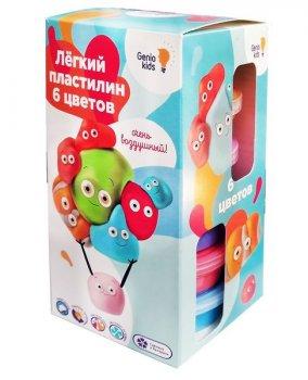 """Набор для детской лепки """"Лёгкий пластилин 6 цветов"""" - GENIO KIDS (TA1715)"""