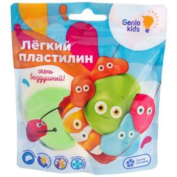 """""""Лёгкий пластилин"""" для детской лепки, зеленый - GENIO KIDS(TA1712-3)"""