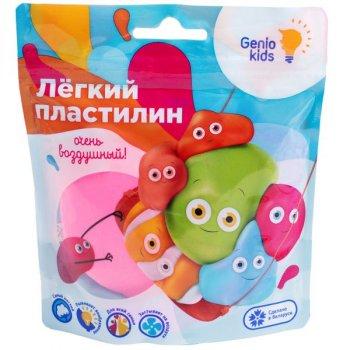 """""""Лёгкий пластилин"""" для детской лепки, розовый - GENIO KIDS (TA1712-1)"""