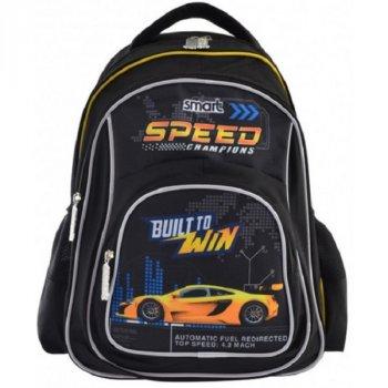 Рюкзак школьный для мальчиков SMART 556817 ZZ-01 Speed Champions (273253)